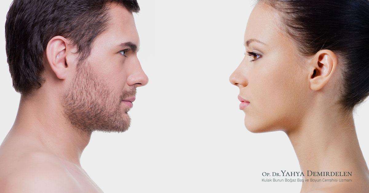 Burun Estetiği Ameliyatında Kadın Erkek Farkı