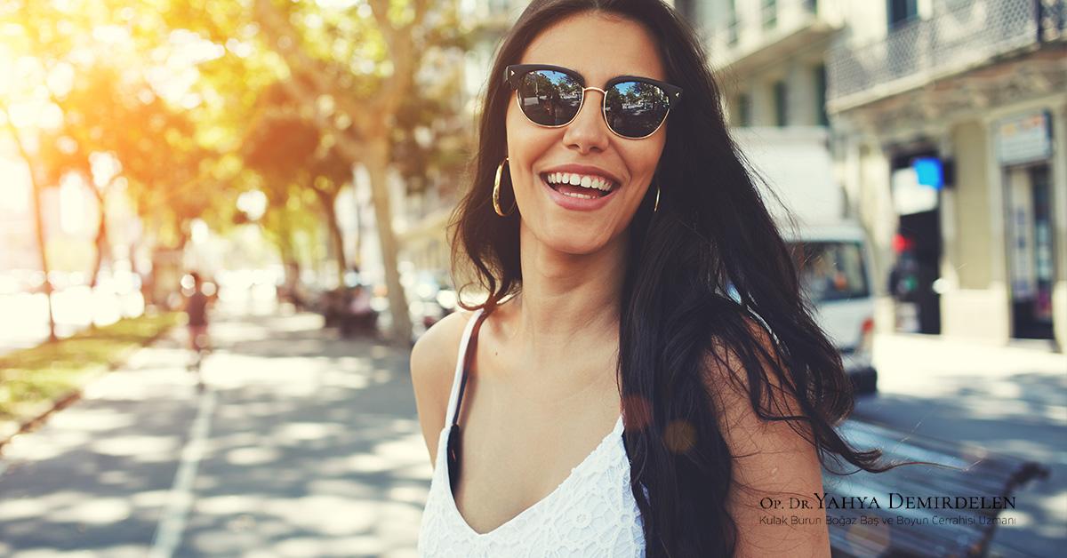 Rinoplasti ve Gözlük Kullanımı